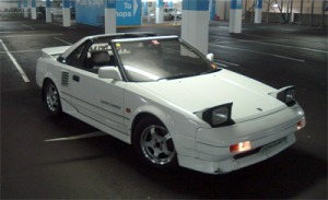 The Toyota MR2. One crap car, apparently.